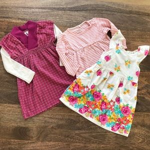 100% cotton gently used 18-24 Months pieces